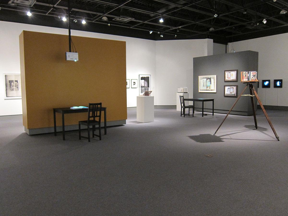 Reading Room Installation, Cambridge Galleries, Cambridge, Ontario. (Jan 8 – Feb 27, 2011)
