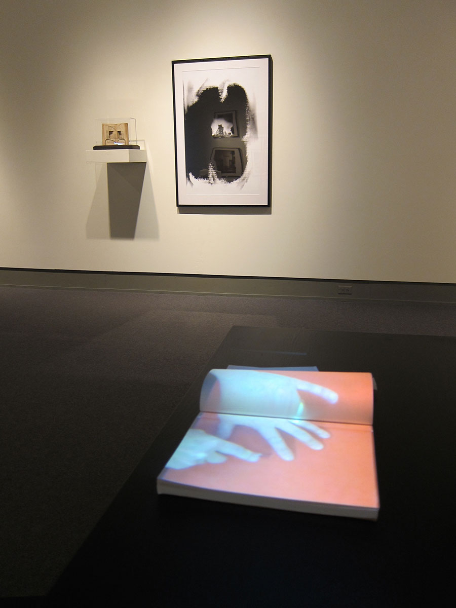 The Way Things Work (2010). Video projection. Reading Room Installation, Cambridge Galleries (2011).
