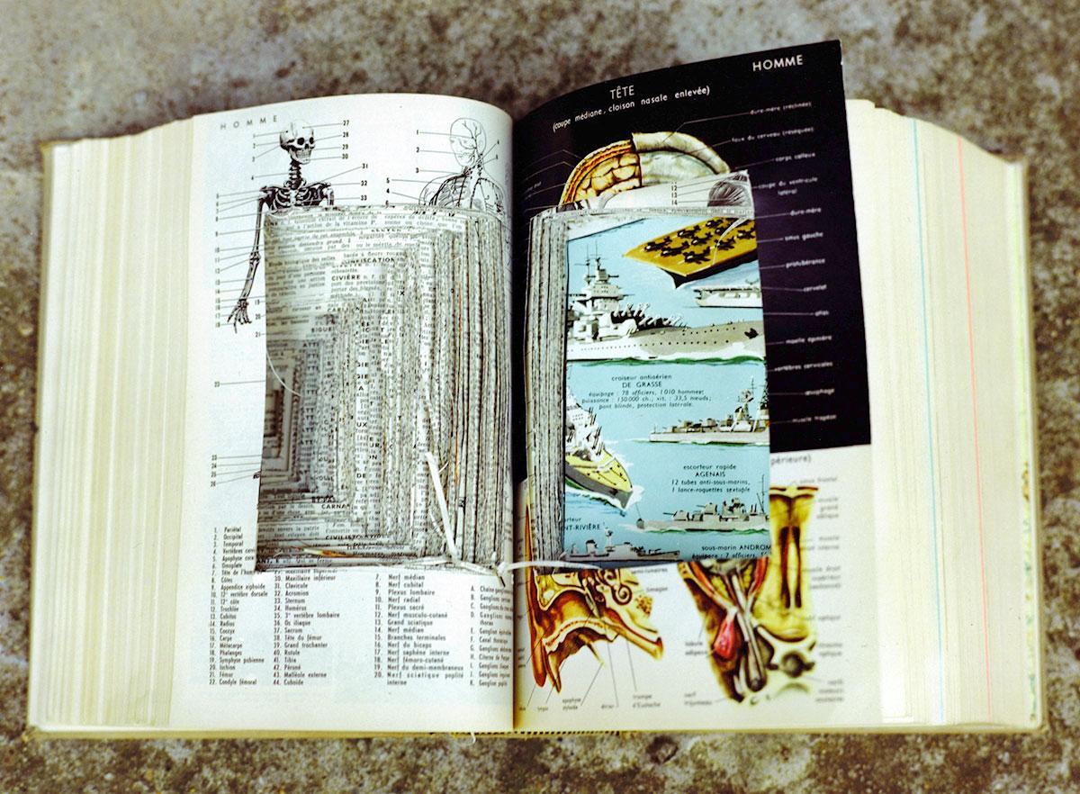 Tete and Warships, Petit Larousse 2003 (2010), chromogenic print.