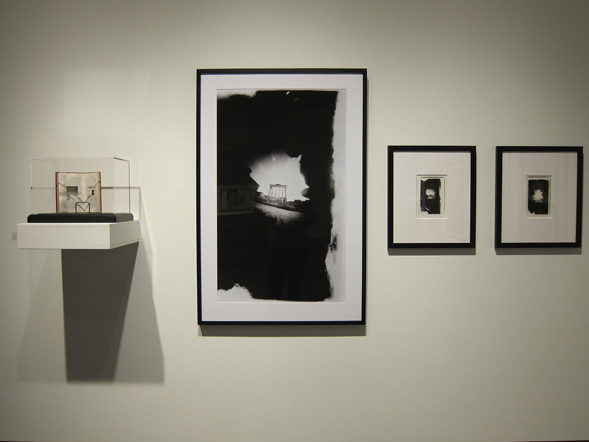 Rome Nouvelle Book Camera (1830) and Images (2003). Reading Room Installation, Cambridge Galleries (2011).