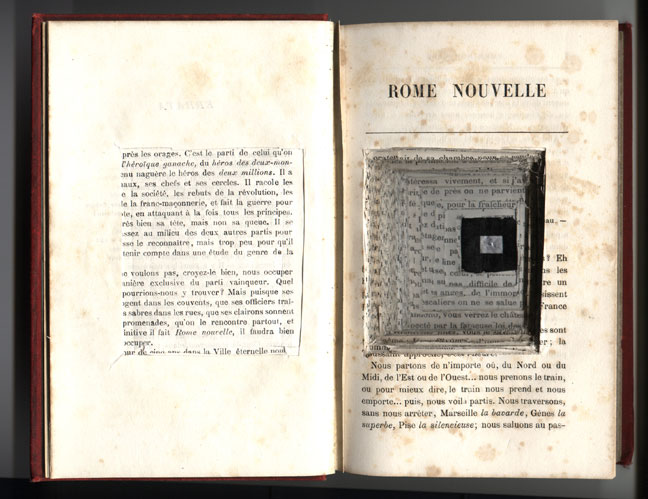 Rome Nouvelle Book Camera (1830) altered into a pinhole camera (2003).