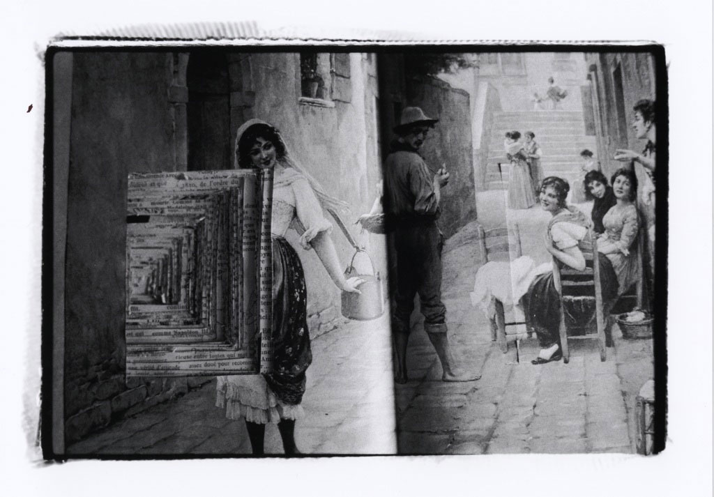 Lady with Pail, La Famille Book Camera images (2010).