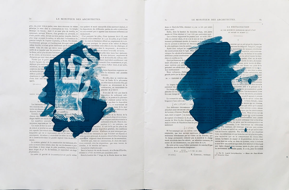 """Jeune Architecte 1, 2019, 36 x 55 cm (21 3/4"""" x 14 1/4"""")"""