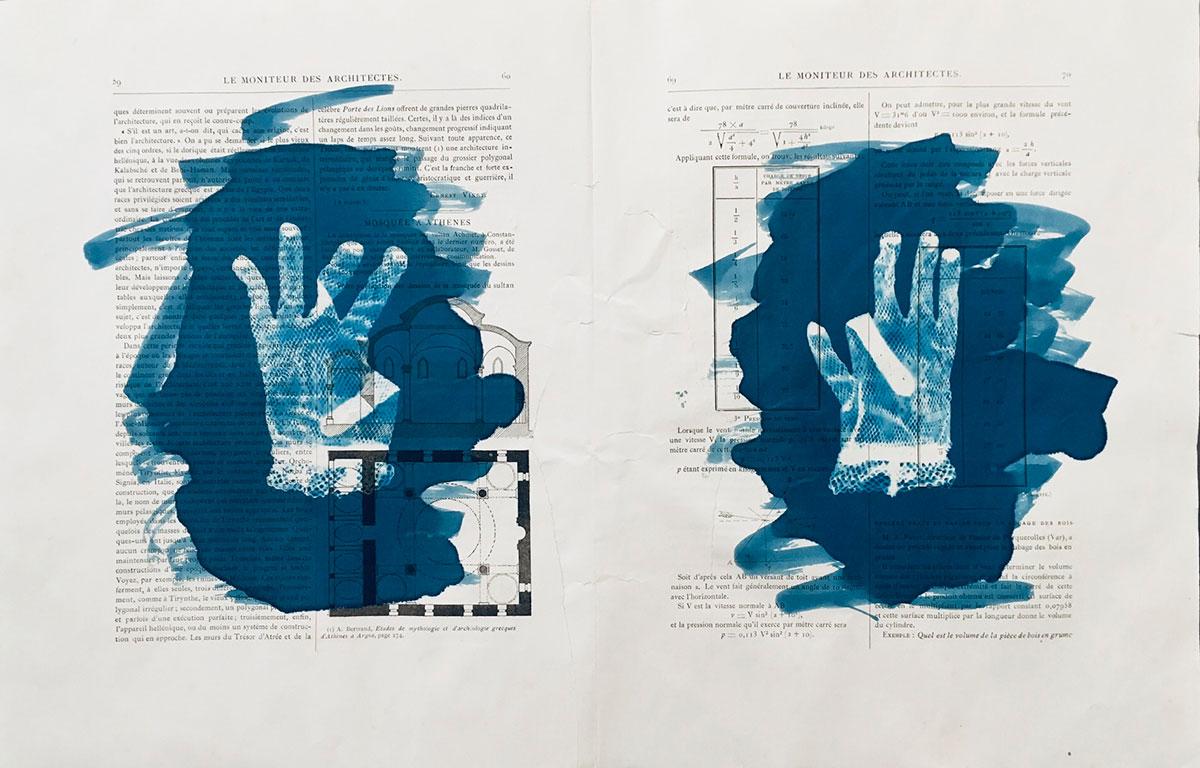 """Jeune Architecte 2, 2019, 36 x 55 cm (21 3/4"""" x14 1/4"""")"""