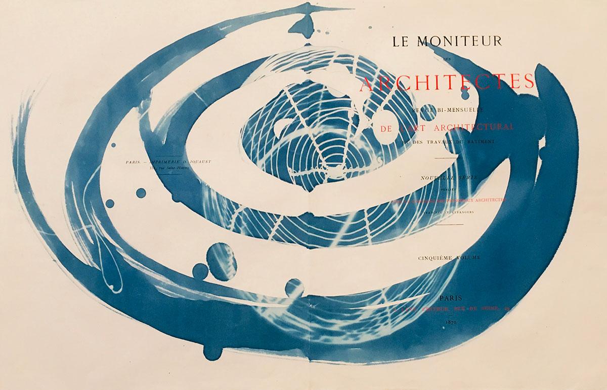 "Le Moniteur Architects Galaxy, 2019, 36 x 55 cm (21 3/4"" x 14 1/4"")"